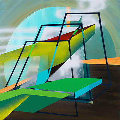 thumbnail link showing a geometric abstract painting